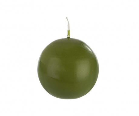Свещ Basic Sphere Olive