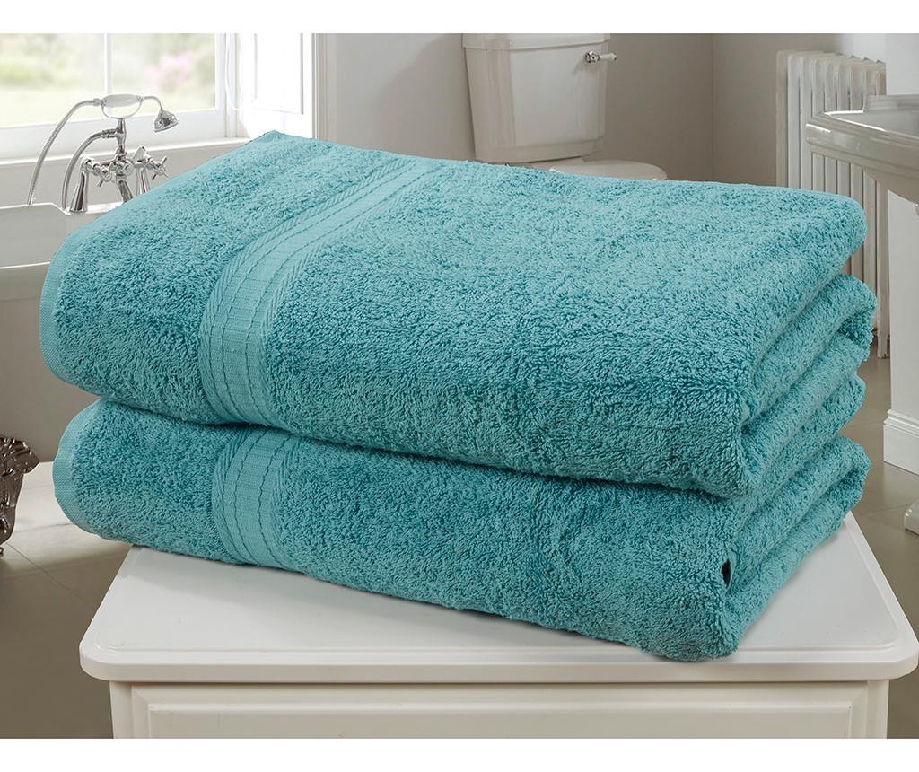 Sada 2 ručníků Royal Kensington Turquoise 90x140 cm