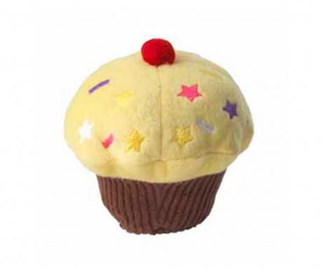 Jucarie pentru animale de companie Cupcake Yellow
