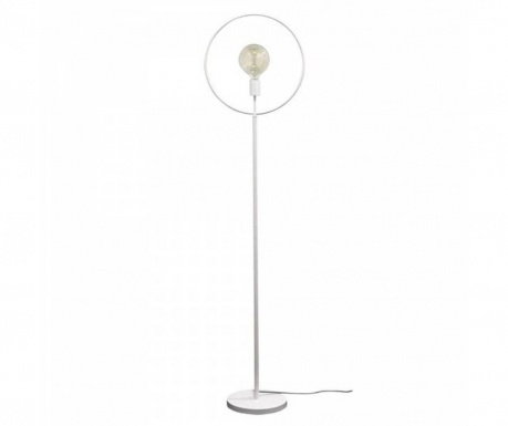 Podlahová lampa Globus White