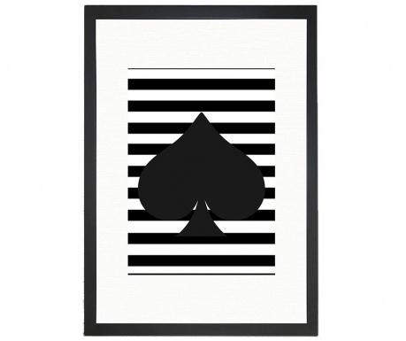 Tablou Spades 24x29 cm