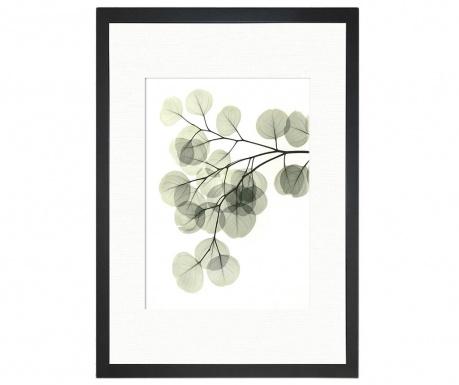 Obraz Green Leafy 24x29 cm