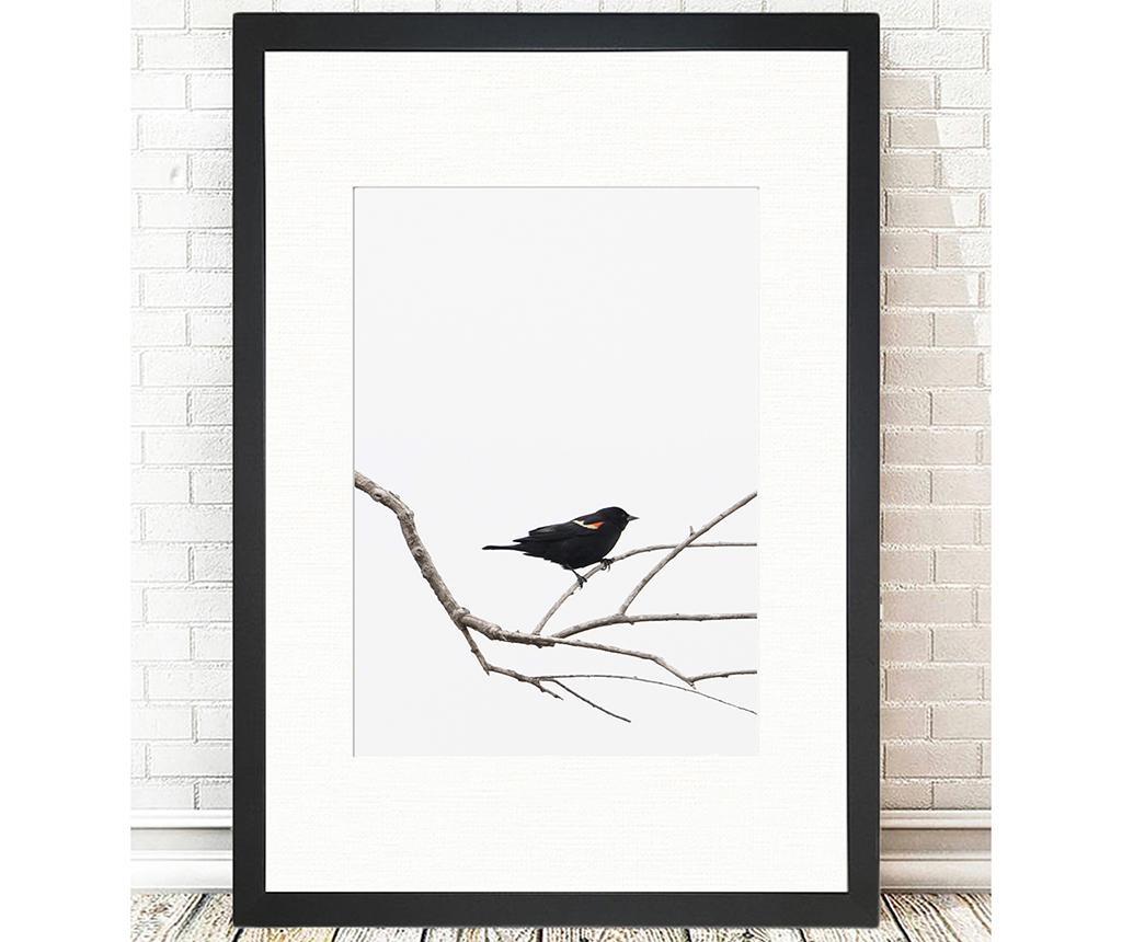 Tablou Bird on the Branch 24x29 cm