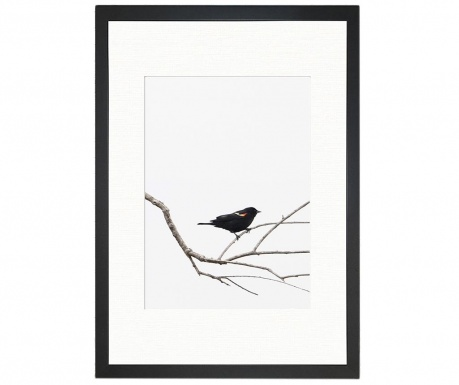Картина Bird on the Branch 24x29 см
