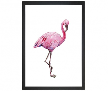 Картина Jocelyn Flamingo 24x29 см