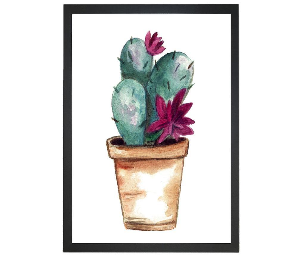 Lovable Cactus Kép 24x29 cm