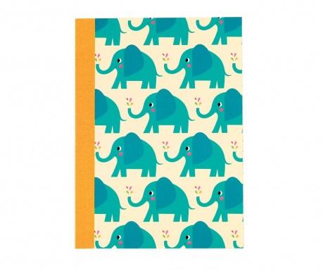 Bilježnica  A6 Elvis the Elephant