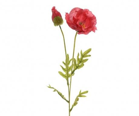 Umelá kvetina Poppy Red