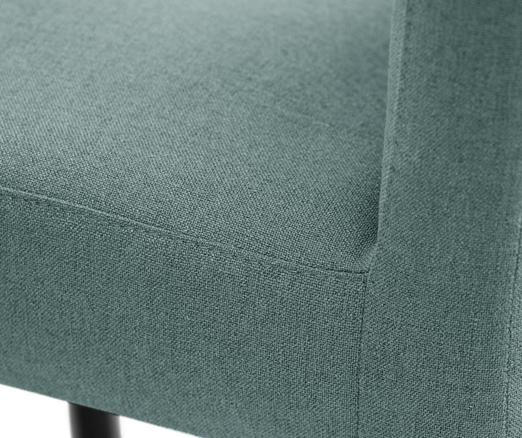 Set 4 scaune Fragrance Black Light Green