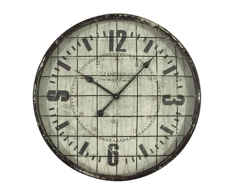 Nástěnné hodiny Beaux Arts Grid