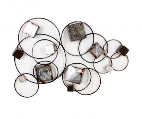 Art de Fer 3D Cubes Fali dekoráció