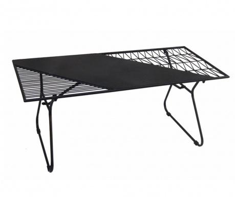 Venkovní konferenční stolek Art de Fer Black