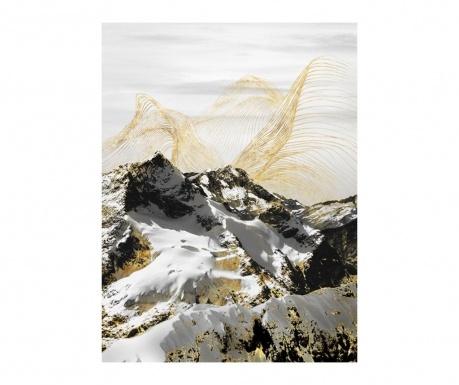 Gallery Mountain Landscape Festmény 60x80 cm