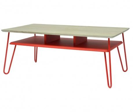 Konferenční stolek Upsidown Red