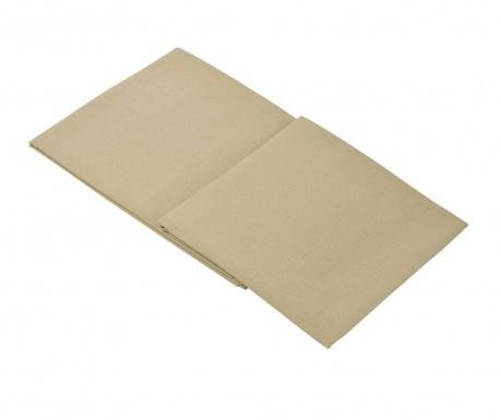 Долен чаршаф Percale Loryn Warm Grey 270x310 см
