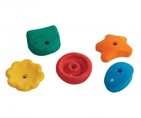 Sada 5 lezeckých kameňov pre deti Medium Ascent Mix