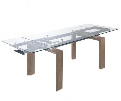 Raztegljiva miza Clear