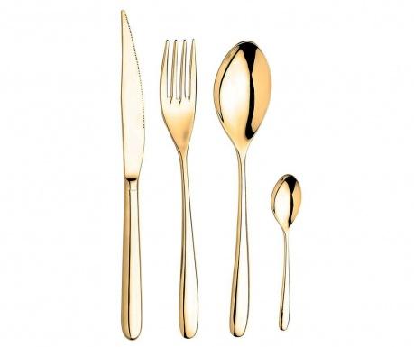 24-dijelni  pribor za jelo Gordon Gold