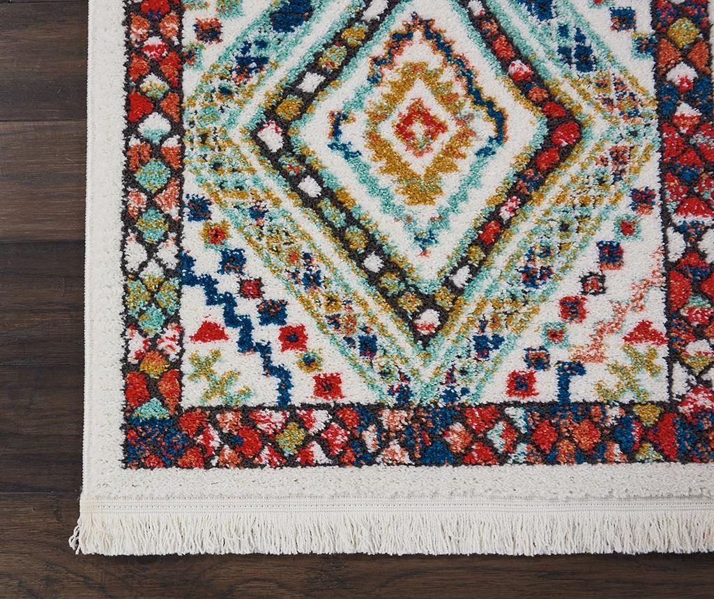 Preproga Navajo White 160x229 cm