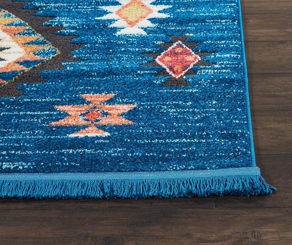 Preproga Navajo Blue 119x188 cm
