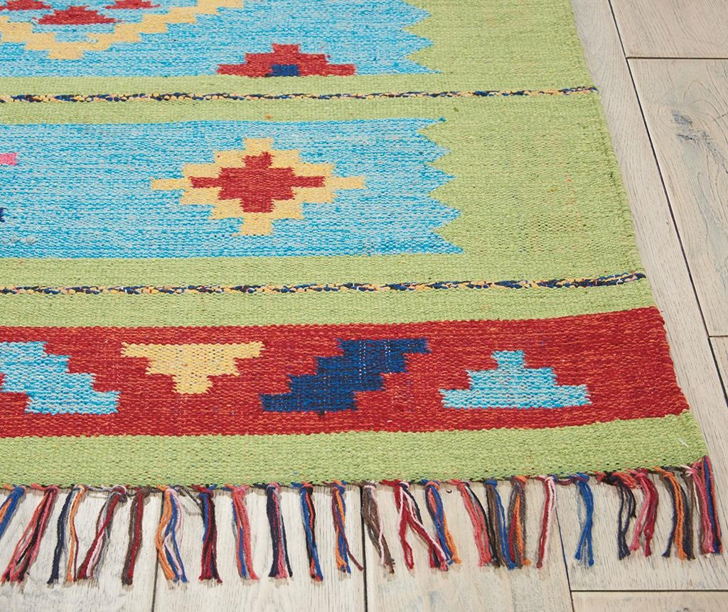 Tepih Baja Blue Green 107x168 cm