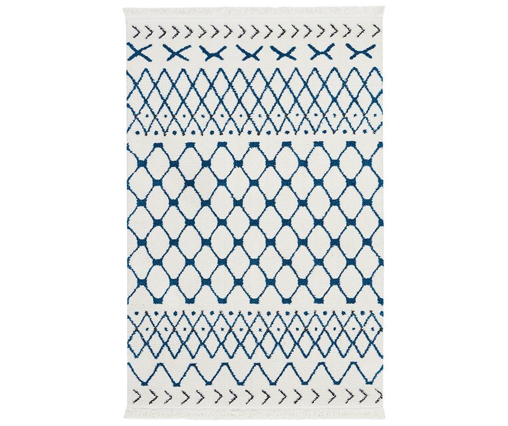 Kamala White Blue Szőnyeg 119x180 cm