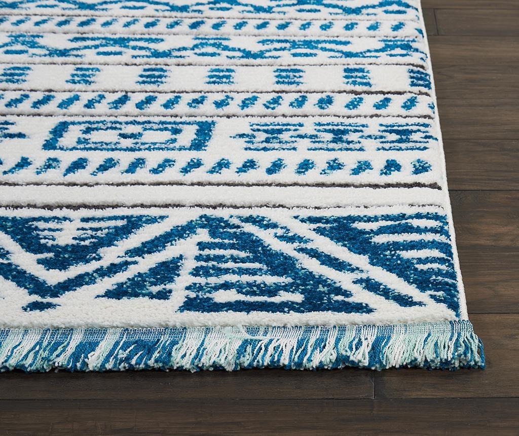 Covor Kamala Ivory Blue 119x180 cm