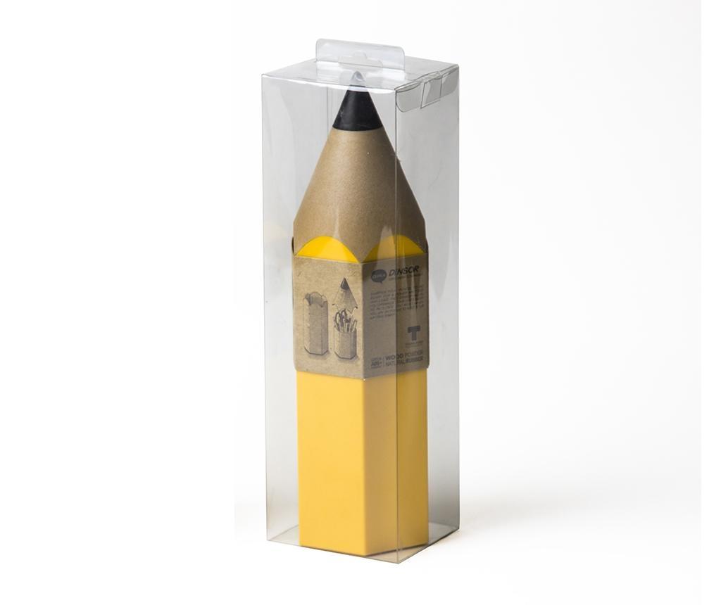 Držač za uredski pribor Dinsor Yellow