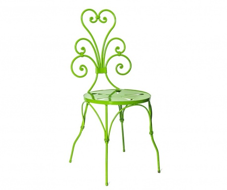 Exteriérová stolička Vivid Green