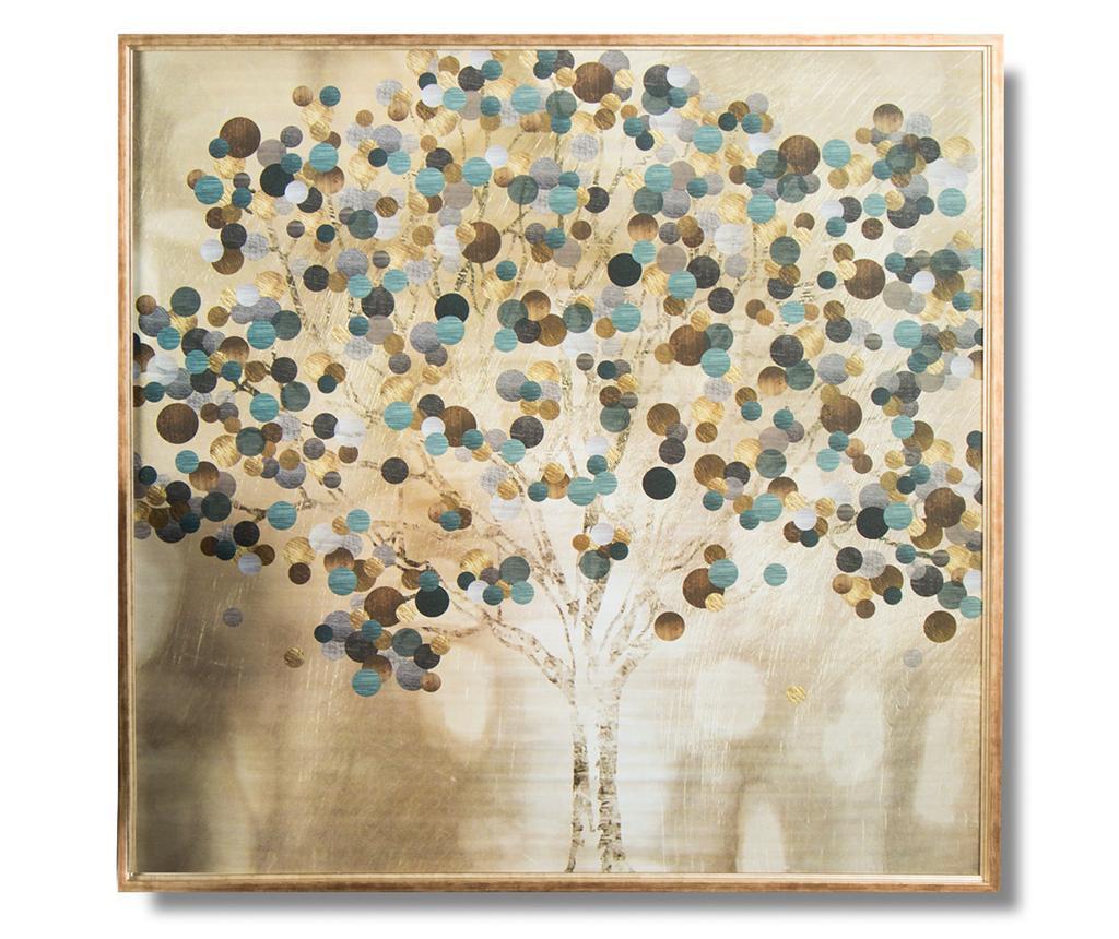 Tablou Lyosha 101x101 cm - Belssia, Multicolor
