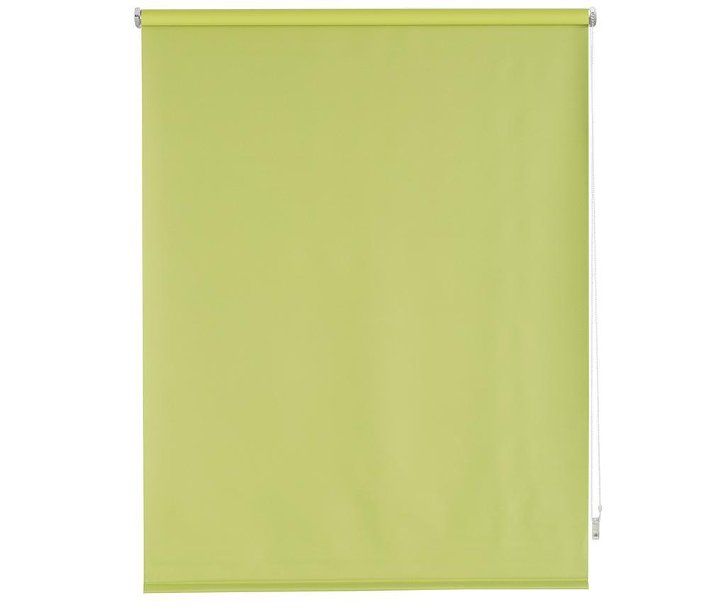 Jaluzea tip rulou Blackout Pistachio 140x175 cm - Blindecor, Verde