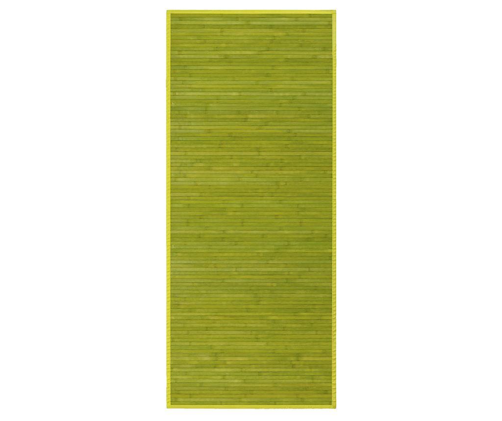 Covor tip pres Mimosa Green 75x175 cm - Casa Selección, Verde