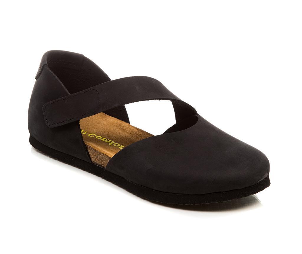 Pantofi dama Alya Black 40 - Comfortfüße, Negru