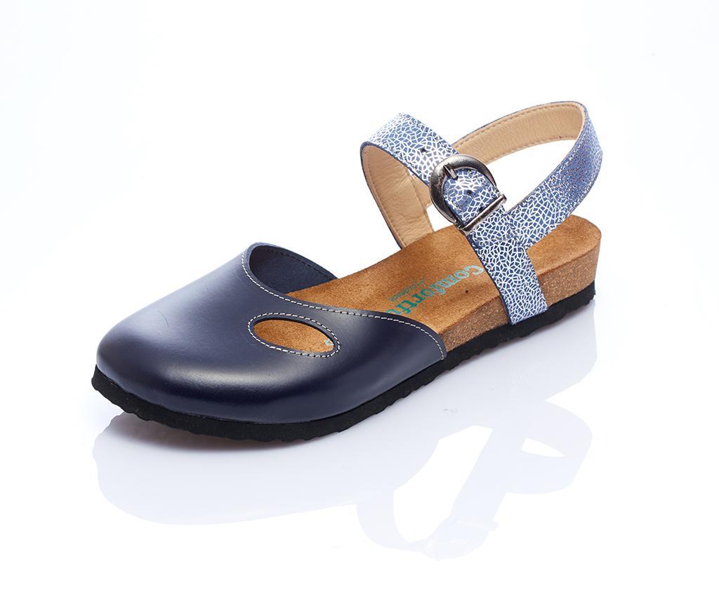 Sandale dama Berit Navy 36 - Comfortfüße
