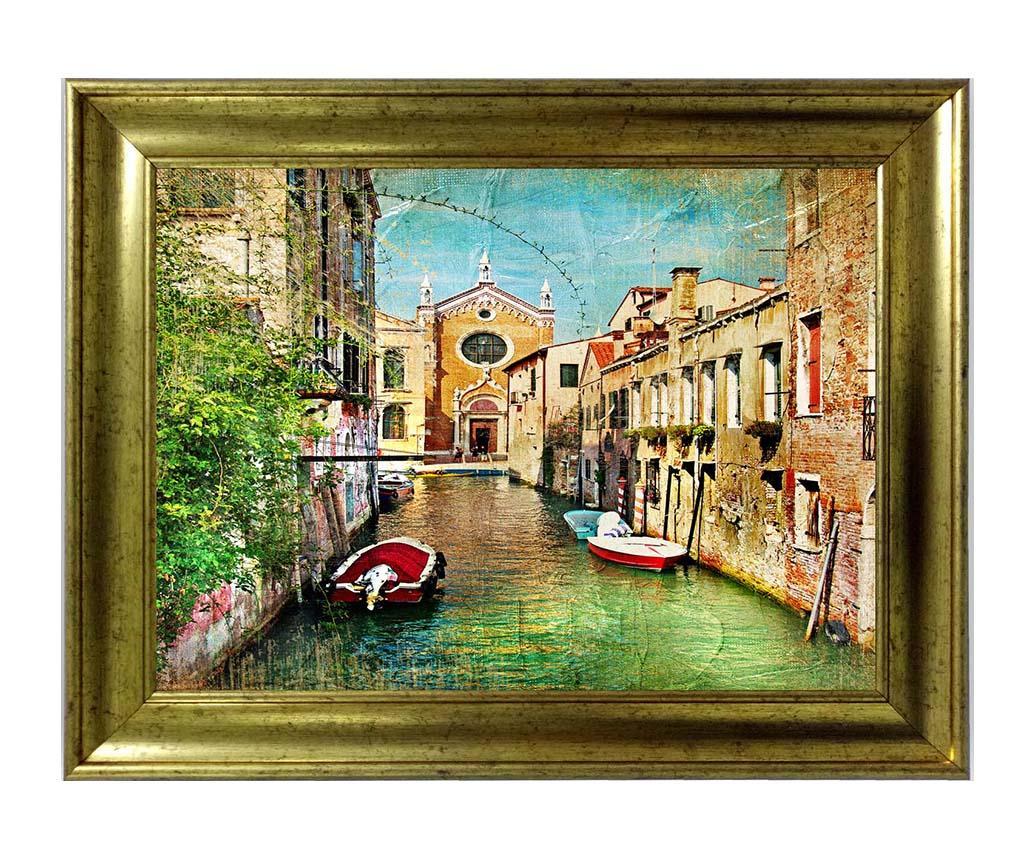 Tablou Venice Street 60x80 cm - Tablo Center, Multicolor