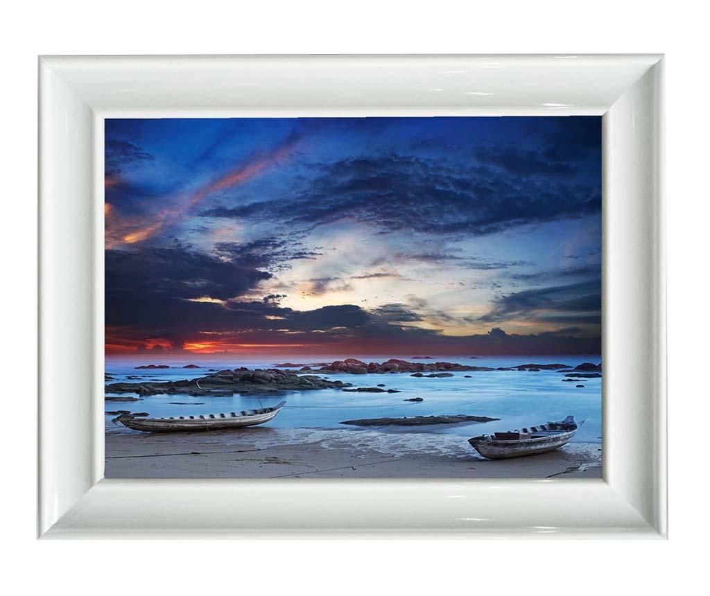 Tablou Morning Sea 40x50 cm - Tablo Center, Albastru