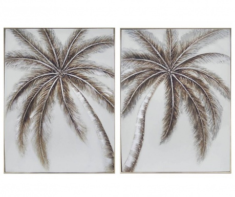Set 2 slike Palm Trees 61x81 cm