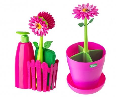 Σετ κουζίνας 4 τεμάχια Flower Power Drainer