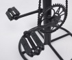 Barski stol Cycle Brown