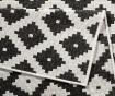 Twin Nizza Black Cream Megfordítható szőnyeg 80x250 cm