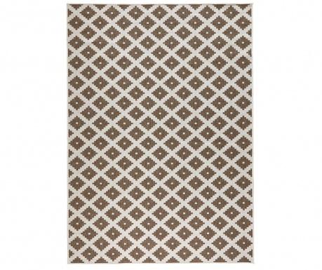 Venkovní koberec Reversible Twin Cross Brown