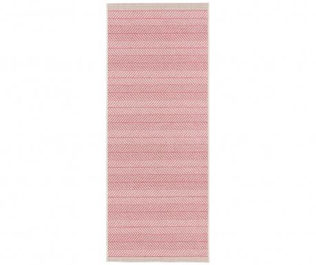 Venkovní koberec Botany Lines Pink 70x200 cm
