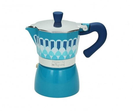 Cafetiera Amica Blue 300 ml