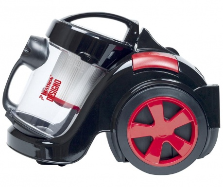 Turbine Designo Black & Red Porzsák nélküli porszívó