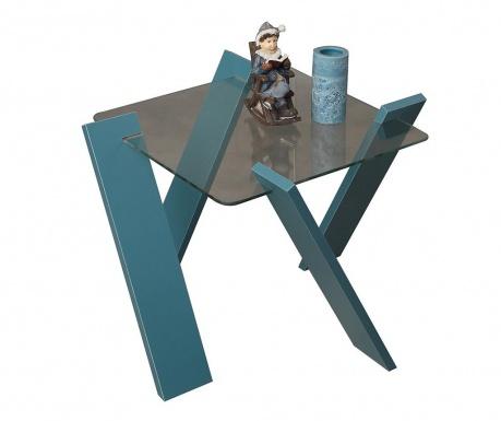 Roman Mini Turquoise Dohányzóasztal