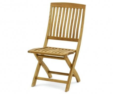 Exteriérová skladacia stolička Devon