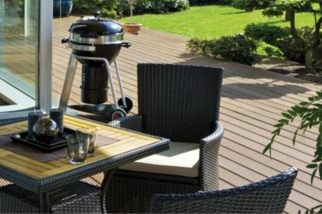 Barbecue v záhrade