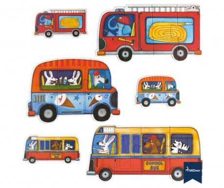 Set 6 puzzle-uri Traffic