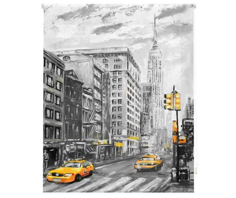 Rolo zastor New York Art 100x250 cm