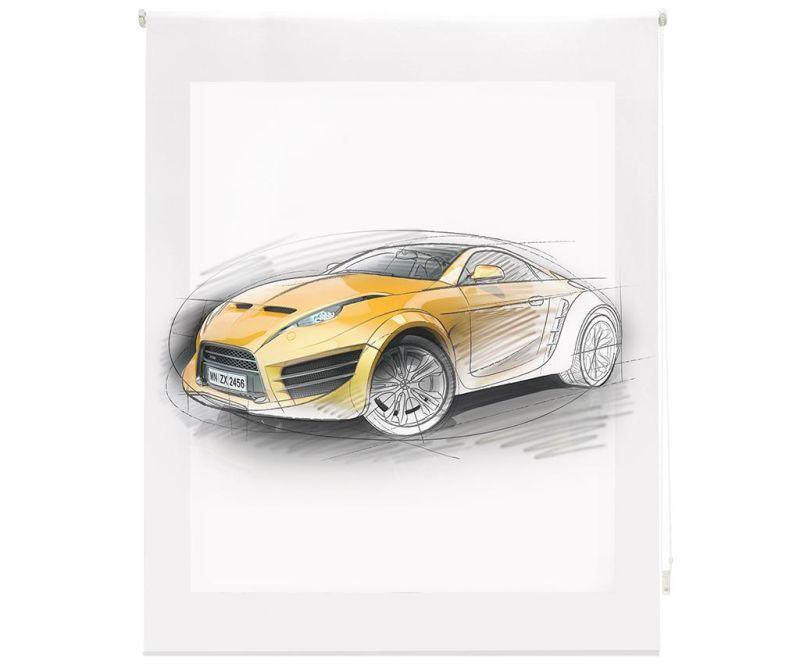 Rolo zavesa Fast Car 140x180 cm